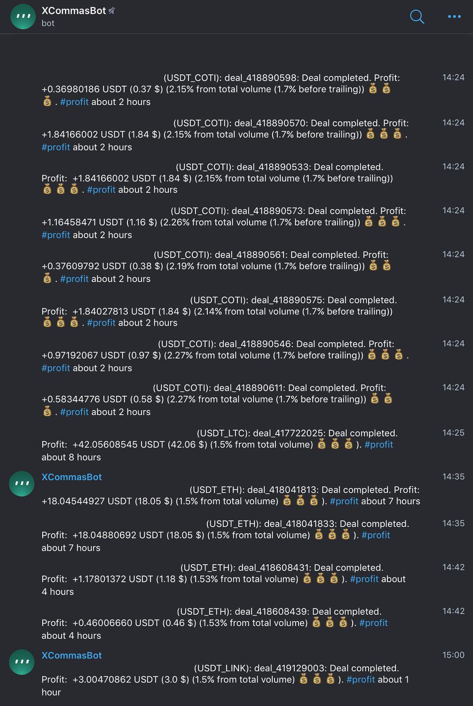 3Commas Telegram Bildirimleri